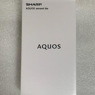 AQUOS - 値下げ不可 未使用 AQUOS sense4 lite SH-RM15 ブラック
