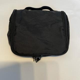 ムジルシリョウヒン(MUJI (無印良品))の無印良品 吊して使える洗面用具ケース 黒(旅行用品)