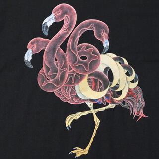 ネクサスセブン(NEXUSVII)のNEXUSⅦ HAMADARAKA 3-FRAMINGOS Tシャツ L 新品(Tシャツ/カットソー(半袖/袖なし))