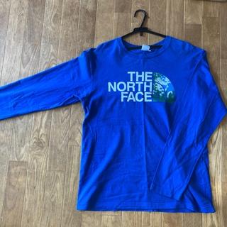 THE NORTH FACE - ノースフェイス 長袖Tシャツ ブルー XL