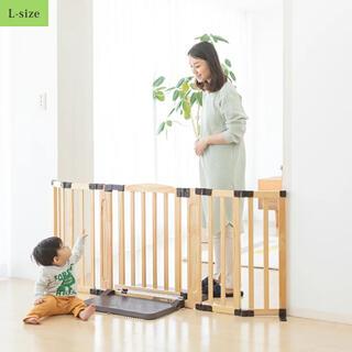 日本育児 -  日本育児 おくだけドアーズWoody-Plus Lサイズ ナチュラル
