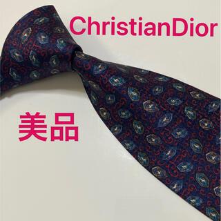 クリスチャンディオール(Christian Dior)のChristianDior ネクタイ ペイズリー ハイブランド 高級 オシャレ(ネクタイ)