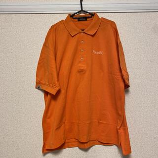 ブリヂストン(BRIDGESTONE)のBRIDGESTONE Paradiso ポロシャツ オレンジ XL(ウエア)