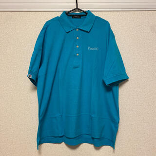ブリヂストン(BRIDGESTONE)のBRIDGESTONE Paradiso ポロシャツ 水色 XL(ウエア)