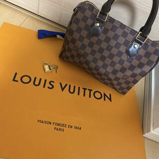 LOUIS VUITTON - ルイヴィトン スピーディ25 ダミエ