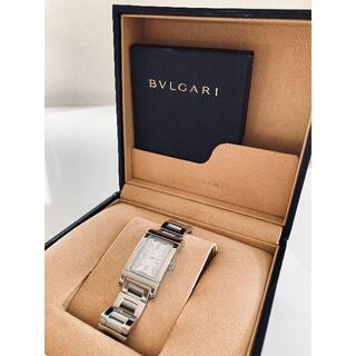 ブルガリ(BVLGARI)の【オ-バーホール済み・小傷無し】ブルガリ レッタンゴロ レディース(腕時計)