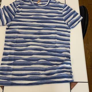アルマーニ コレツィオーニ(ARMANI COLLEZIONI)のアルマーニコレツォーニボーダーTシャツ(Tシャツ/カットソー(半袖/袖なし))