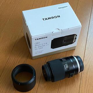 タムロン(TAMRON)のTAMRON 90mm F2.8 Di MACRO 1:1 VC USD(レンズ(単焦点))