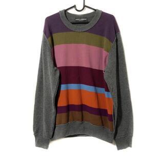ドルチェアンドガッバーナ(DOLCE&GABBANA)のドルチェアンドガッバーナ 長袖セーター -(ニット/セーター)