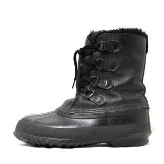 ソレル(SOREL)のソレル ショートブーツ 8 レディース - 黒(ブーツ)