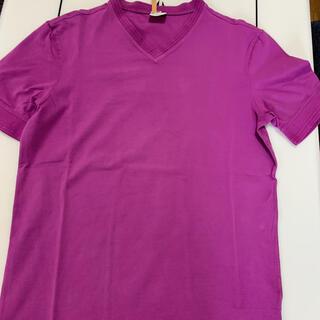 アルマーニ コレツィオーニ(ARMANI COLLEZIONI)のアルマーニコレツォーニvネックトップス(Tシャツ/カットソー(半袖/袖なし))