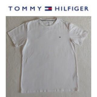 トミーヒルフィガー(TOMMY HILFIGER)のTOMMY HILFIGER トミーヒルフィガー 半袖Tシャツ 白 Mサイズ(Tシャツ/カットソー(半袖/袖なし))