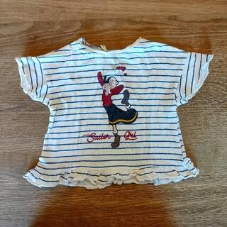 ザラキッズ(ZARA KIDS)のZARA baby オリーブTシャツ(Tシャツ)