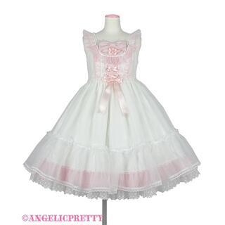 Angelic Pretty - Lovelyオーガンジージャンパースカート