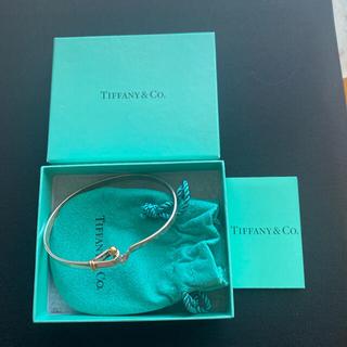 ティファニー(Tiffany & Co.)のtiffanyティファニー  フック&アイ ブレスレット SV925 K18(ブレスレット/バングル)