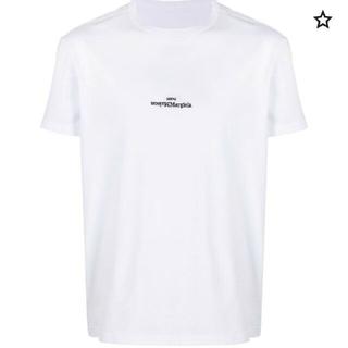 マルタンマルジェラ(Maison Martin Margiela)のmaisonmargiela ロゴTシャツ(Tシャツ(半袖/袖なし))