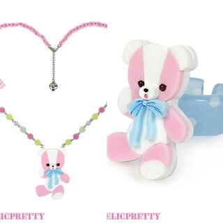アンジェリックプリティー(Angelic Pretty)のmelody toys BEAR TOY ネックレス リング(ネックレス)