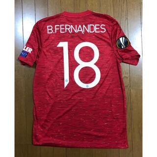 adidas - マンチェスターユナイテッド ヨーロッパリーグ決勝 Bフェルナンデス ユニフォーム