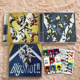 ジャニーズウエスト(ジャニーズWEST)のジャニーズWEST♡Big Shot!!初回盤A初回盤B通常盤セット(ポップス/ロック(邦楽))