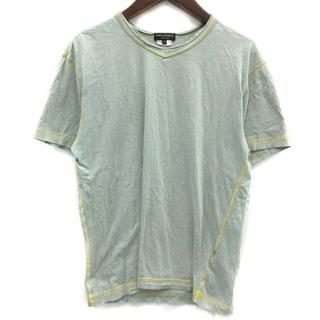 コムデギャルソンオムプリュス(COMME des GARCONS HOMME PLUS)のコムデギャルソンオムプリュス AD2006 Tシャツ インサイドアウト M 緑(Tシャツ/カットソー(半袖/袖なし))