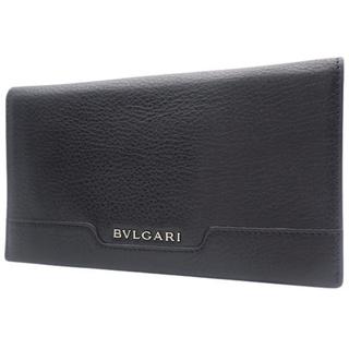 ブルガリ(BVLGARI)のブルガリ 2つ折り長財布 カーフ ブラック黒 40800074708(長財布)