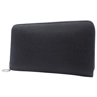 ブルガリ(BVLGARI)のブルガリ ラウンドファスナー長財布 カーフ ブラック黒 40800074870(長財布)