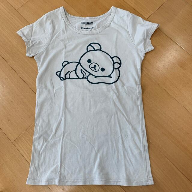 Bonpoint(ボンポワン)のボントン リラックマ コラボ Tシャツ 8A キッズ/ベビー/マタニティのキッズ服女の子用(90cm~)(Tシャツ/カットソー)の商品写真