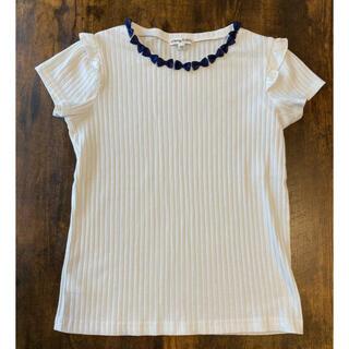 エニィファム(anyFAM)のanyFAN  白シャツ(Tシャツ/カットソー)