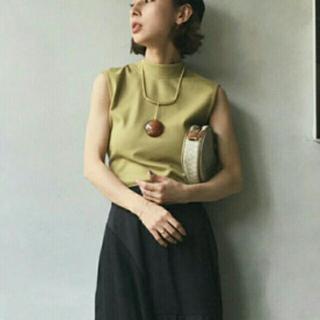 アメリヴィンテージ(Ameri VINTAGE)のノースリーブ(カットソー(半袖/袖なし))