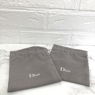 ディオール(Dior)のDior 巾着袋2枚セット ノベルティ(ノベルティグッズ)