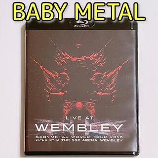ベビーメタル(BABYMETAL)のLIVE AT WEMBLEY BABYMETAL 2016 ブルーレイ 美品!(ミュージック)