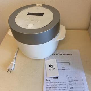 バルミューダ(BALMUDA)のバルミューダデザイン K03A-WH(炊飯器)