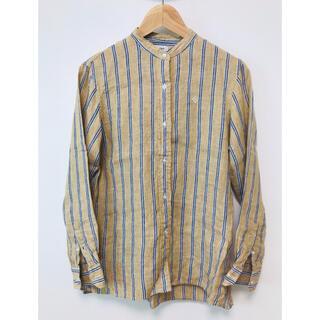 coen - コーエン⭐︎リネン長袖バンドカラーシャツ