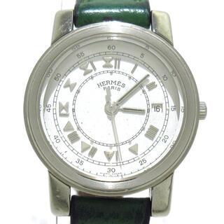Hermes - エルメス 腕時計 - レディース 〇Y 白