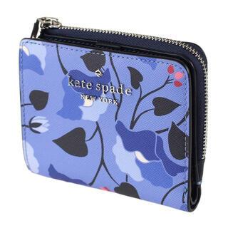 kate spade new york - ケイトスペード ミニ財布 二つ折 コインケース  花柄 新品 正規品 ブランド