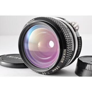 ニコン(Nikon)の#BF05 Nikon Nikkor 28mm F3.5 Ai(レンズ(単焦点))