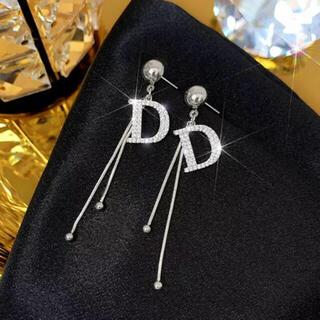 Christian Dior - 新品  Dピアス   silver925   CZダイヤ  シルバー