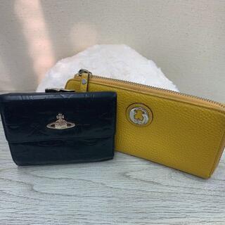 ヴィヴィアンウエストウッド(Vivienne Westwood)の★ヴィヴィアン 折りたたみ財布 トウス 長財布 2点セット(財布)