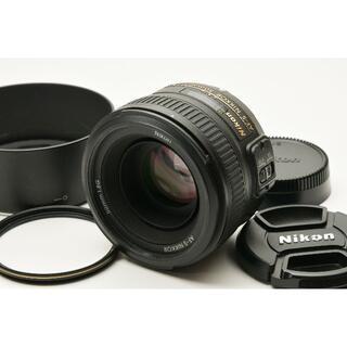 Nikon - Nikon AF-S NIKKOR 50mm 1.8G 単焦点 レンズ 美品