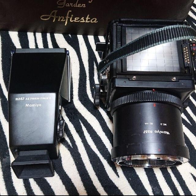 USTMamiya(マミヤ)の今週限定値下げ! mamiya rz67 ae prism finder スマホ/家電/カメラのカメラ(フィルムカメラ)の商品写真