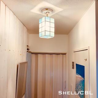 天井照明 Shell/CBL-R シェル シーリングライト ブルー レクタングル(天井照明)
