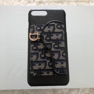 クリスチャンディオール(Christian Dior)の【美品】DIOR iPhone 8plus iPhoneケース(iPhoneケース)