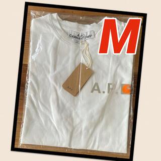 アーペーセー(A.P.C)の【新品】A.P.C. アーペーセー カーハート Tシャツ ホワイト Mサイズ(Tシャツ/カットソー(半袖/袖なし))