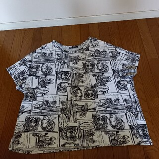 ザラ(ZARA)のZARAアメリカンコミックTシャツ(Tシャツ(半袖/袖なし))