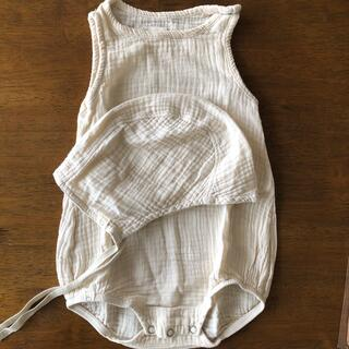 Caramel baby&child  - bacabuche ロンパース&ボンネット