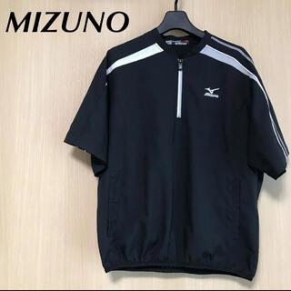 ミズノ(MIZUNO)のMIZUNO ミズノ  メンズ S 半袖 ナイロン 野球 トップス ピステ 黒(ウェア)