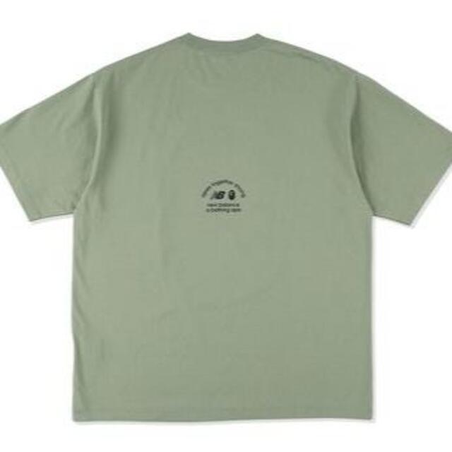 A BATHING APE(アベイシングエイプ)のBAPE X NEW BALANCE APE HEAD TEE Olive メンズのトップス(Tシャツ/カットソー(半袖/袖なし))の商品写真