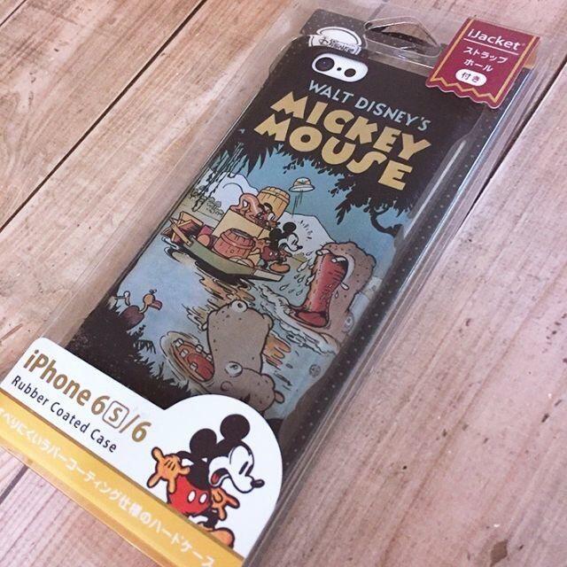 ミッキーマウス(ミッキーマウス)のミッキーマウス iPhone6/6s スマホケース DCS021 スマホ/家電/カメラのスマホアクセサリー(iPhoneケース)の商品写真