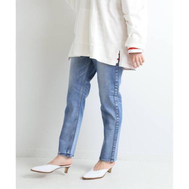 IENA(イエナ)のゆっこ様ご専用 新品 イエナ アッパーハイツ 別注 THE LADY 24 レディースのパンツ(デニム/ジーンズ)の商品写真