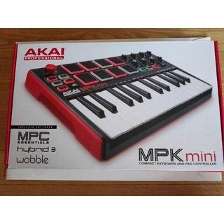 AKai   MIDI  mpk2 キーボード 箱、取説付き土曜日まで値下げ(MIDIコントローラー)